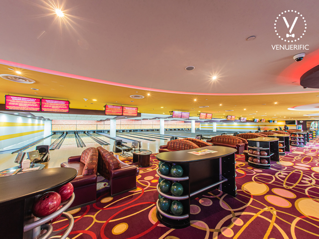 large indoor playground in singapore with bowling area
