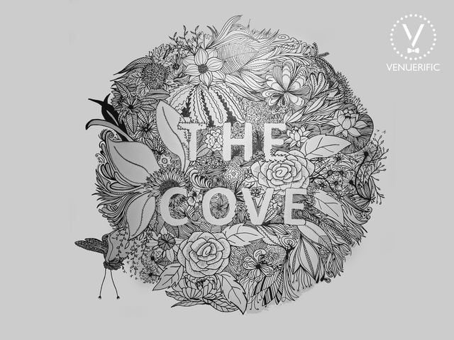 flower artistic logo of the cove