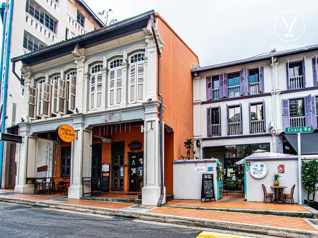 the exterior building of pasta brava