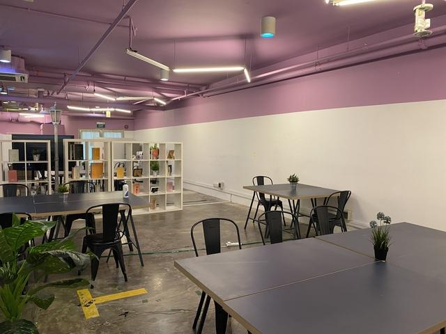 industrial-vibe of meeting rooms