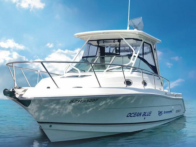 Ocean blue small yacht for rent singapore venuerific medium