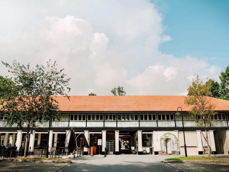 the exterior look of wheeler's estate