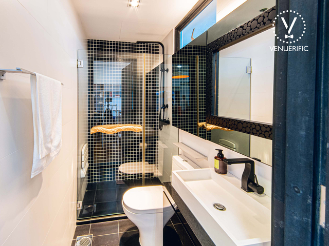 singapore small event space with bathroom facily