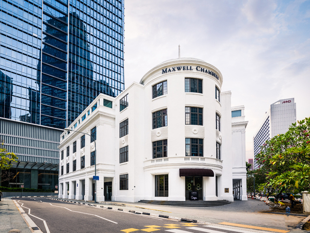 refurbished conservation building of architectural and historical significance