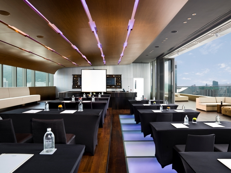 corporate training and workshop in sugar bar deck lounge