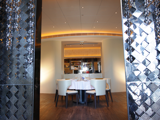 private dining area perfect for small group of business meeting