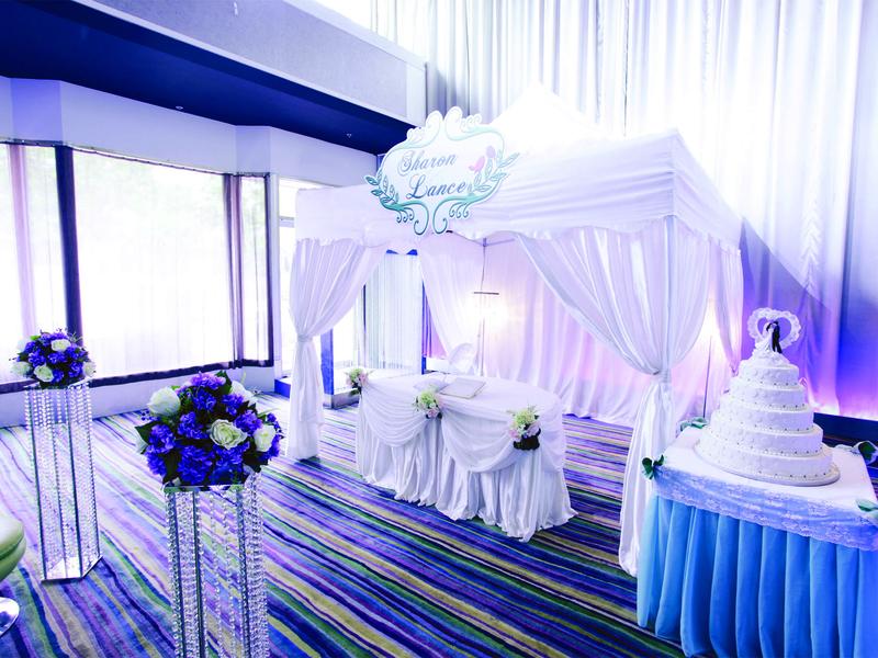 scene bar wedding decoration event hall