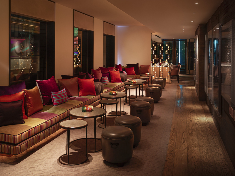 sevva interior lounge and event space