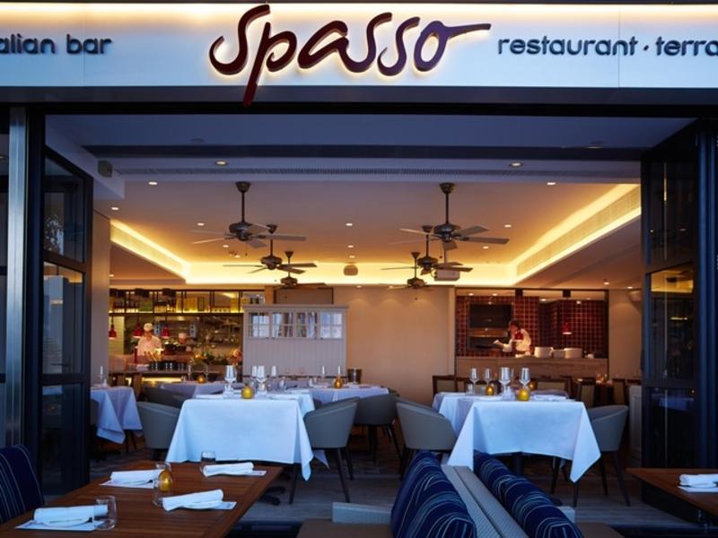 spasso italian bar and restaurant storefront