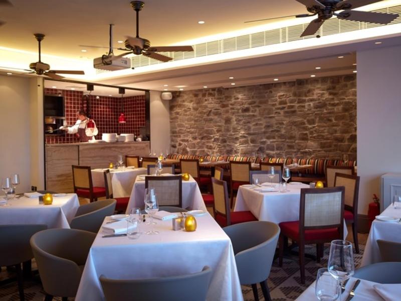 italian restaurant dining setting