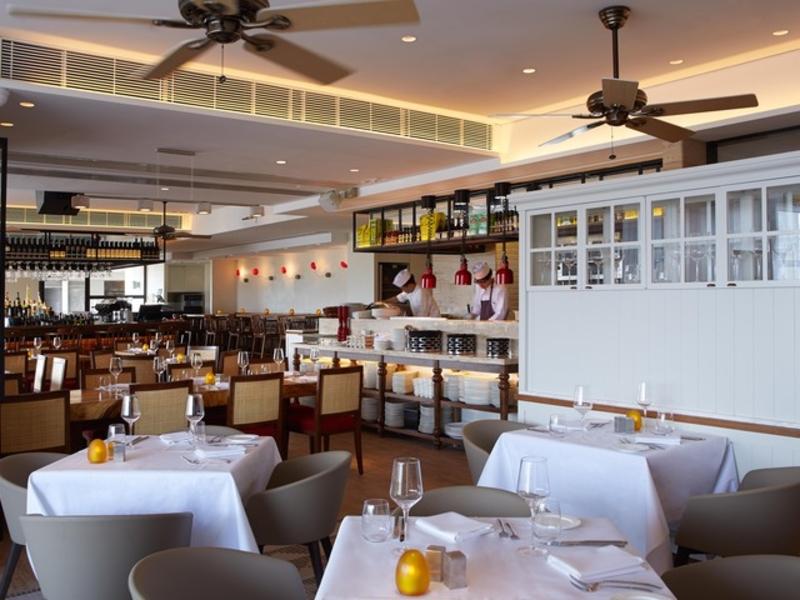 interior of spasso italian bar restaurant