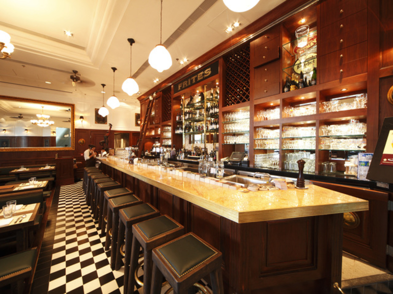 authentic belgian-style bar stocked with belgian beers on tap and bottle