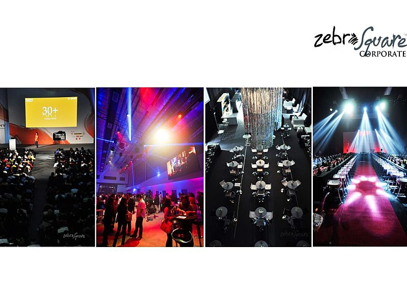 large function hall with stage for product launch event in kuala lumpur