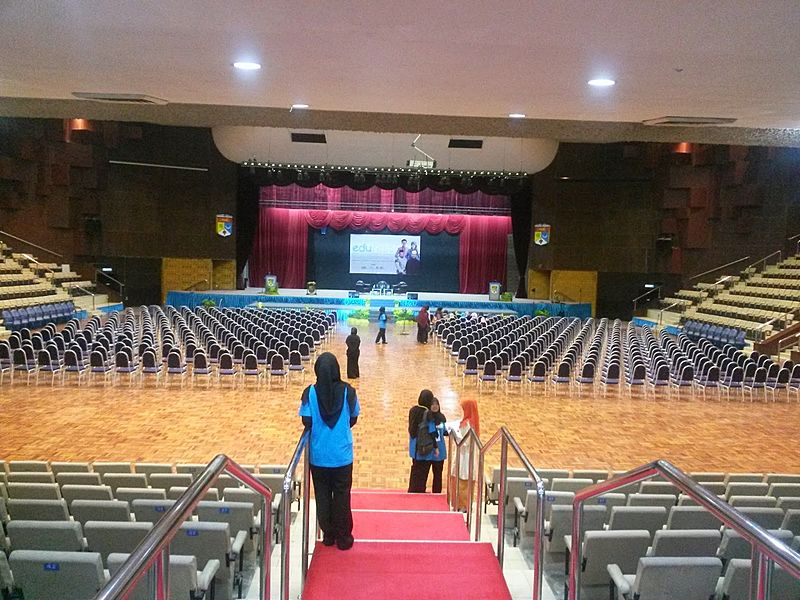 conference preparation before event start