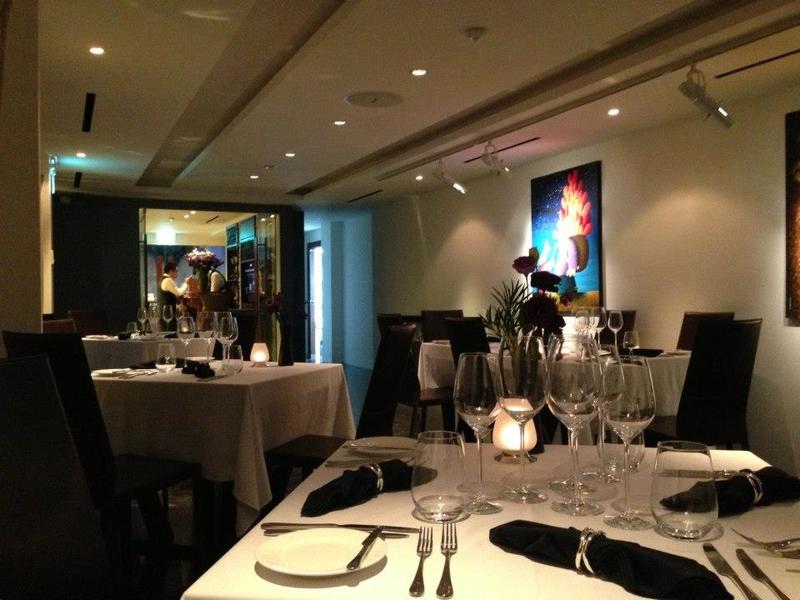 contemporary fine dining italian restaurant