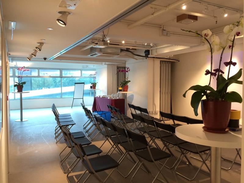 seminar chair setup in event space
