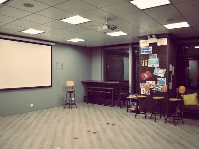 multifunctional event space equipped with audio visual facilities