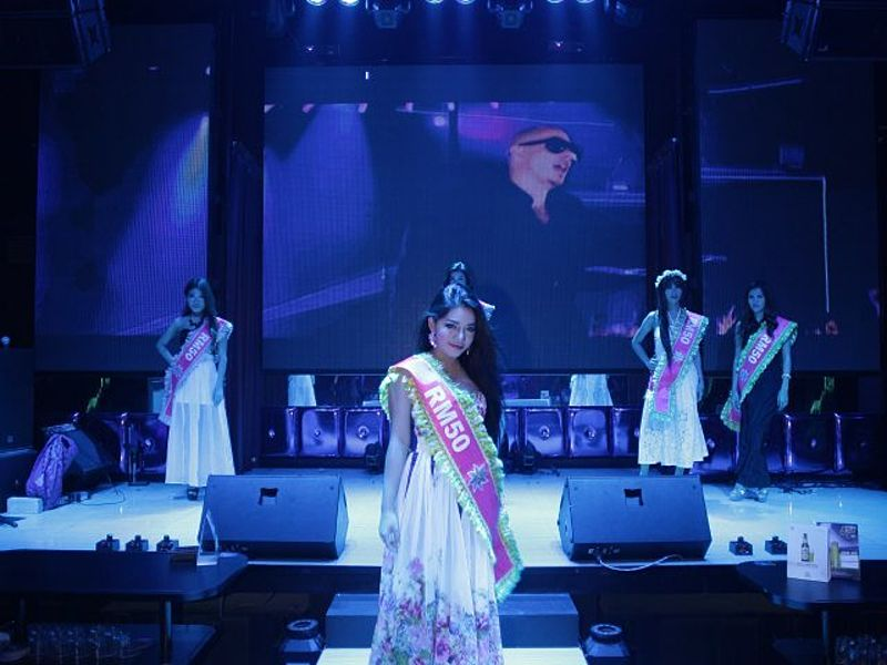 catwalk session from beauty pageant event
