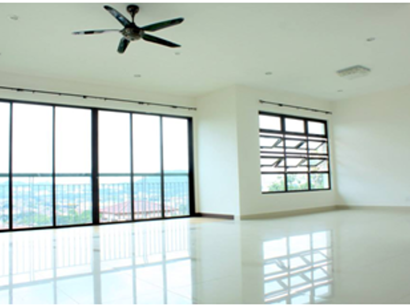 function hall with ceiling to floor window