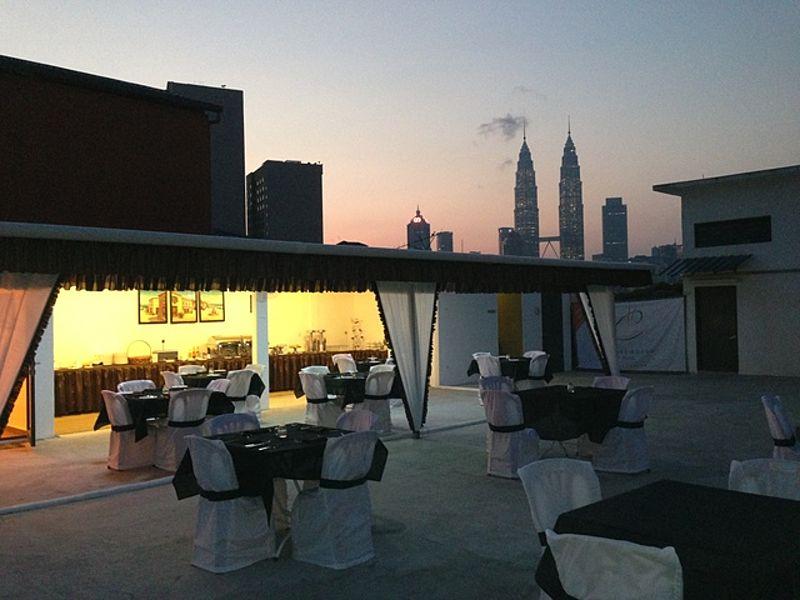rooftop cross roads hotel outdoor events near me kuala lumpur